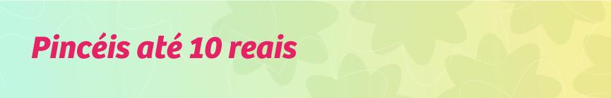 Pincéis e Esponjas até 10 reais