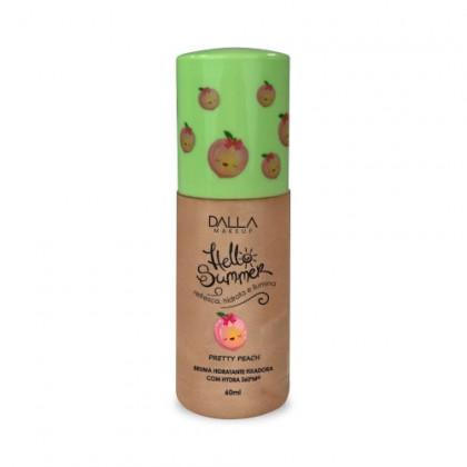 Bruma Hidratante Fixadora Com Hydra Hello Summer Dalla Makeup - Pretty Peach