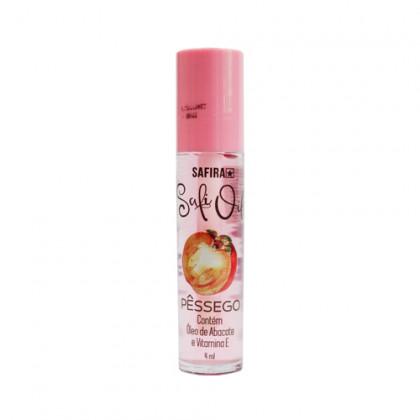 Lip Safi Oil Hidratante Labial Safira - Pêssego