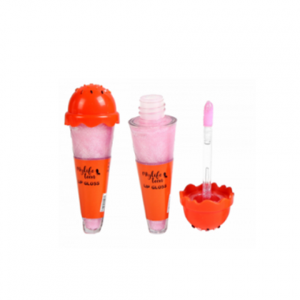 Lip Gloss Sorvetinho MyLife - Cor Vermelho