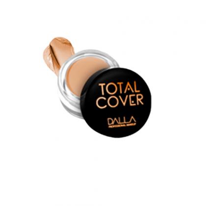 Corretivo Vegano Alta Cobertura Total Cover Dalla Makeup - Cor 3