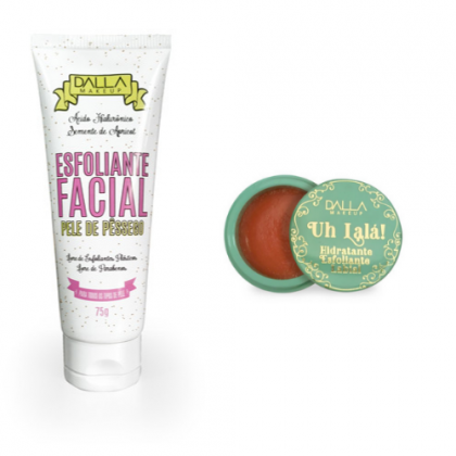 Kit Esfoliante Facial E Labial Dalla Makeup