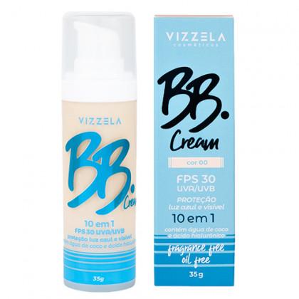 BB Cream 10 em 1 Vizzela - Cor 00
