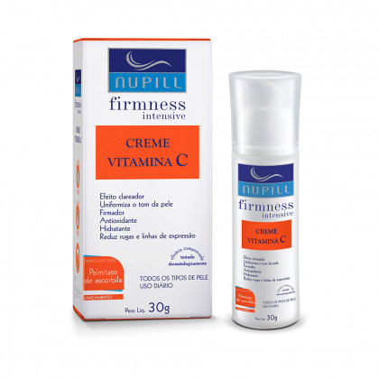 Creme Facial Vitamina C Firmness Intensive - Nupill