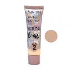 Base líquida Natural Look Ruby Rose - Nude 2