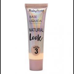 Base líquida Natural Look Ruby Rose - Nude 3