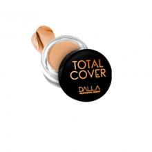 Corretivo Vegano Alta Cobertura Total Cover Dalla Makeup - Cor 6
