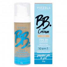 BB Cream 10 em 1 Vizzela - Cor 4,5