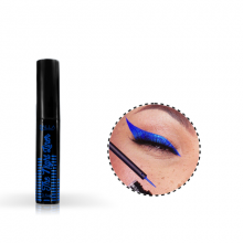 Delineador Líquido Metalizado Azul The Night Liner Dalla Makeup