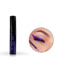 Delineador Líquido Metalizado Roxo The Night Liner Dalla Makeup