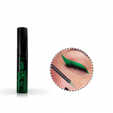 Delineador Líquido Metalizado Verde The Night Liner Dalla Makeup