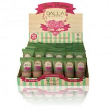 Box com 30 Und Base Vegana Oil Free Efeito Matte Dalla Makeup - Peles Médias